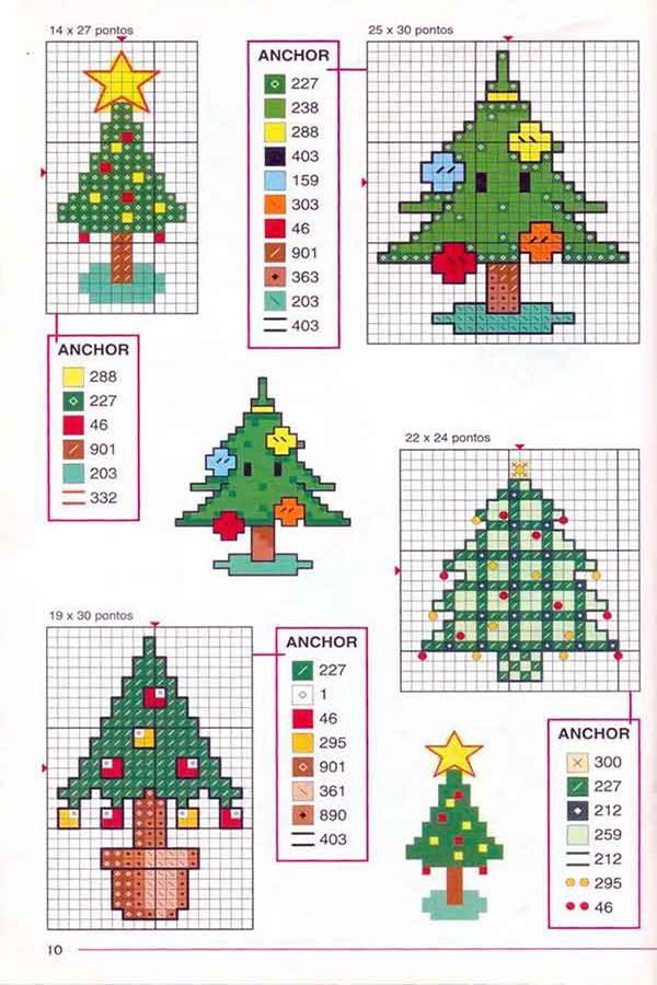 Magnífico Patrón Del Sombrero Del árbol De Navidad De Punto ...