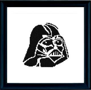 Patron de Punto de Cruz PDF - Darth Vader / La Guerra de las Galaxias