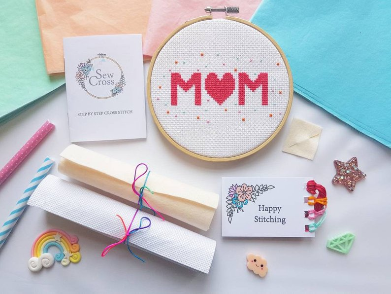 Mothers Day Gift - Cross Stitch Kit