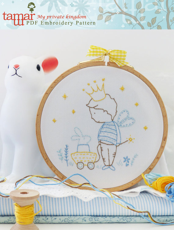 My private kingdom - Embroidery Pattern