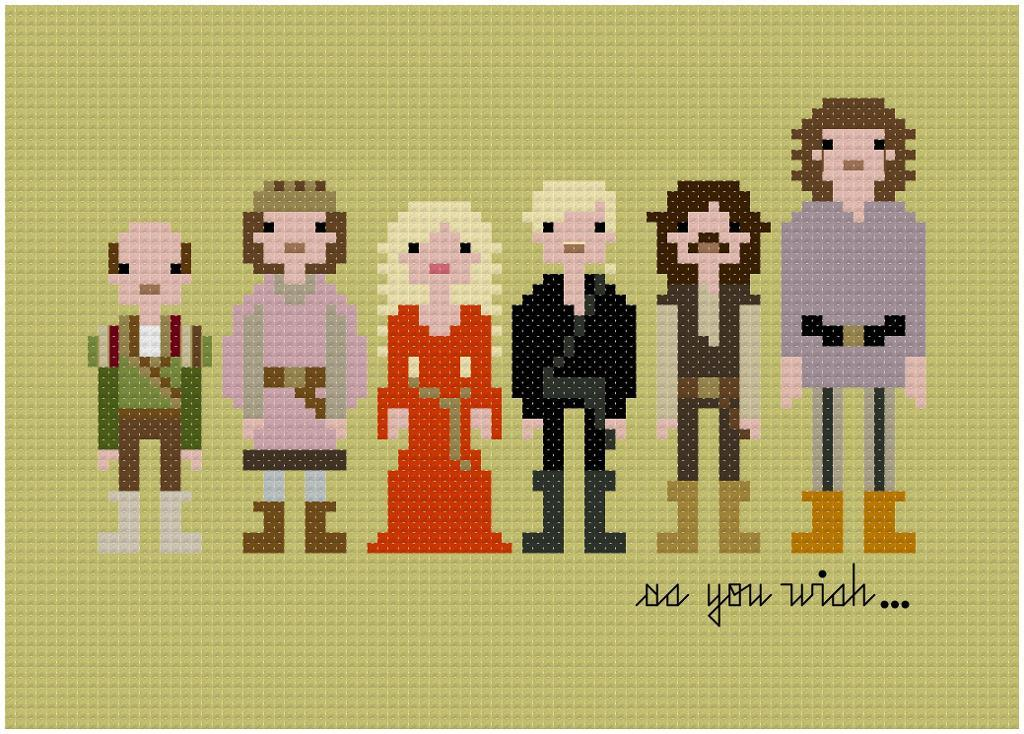 Pixel People - The Princess Bride
