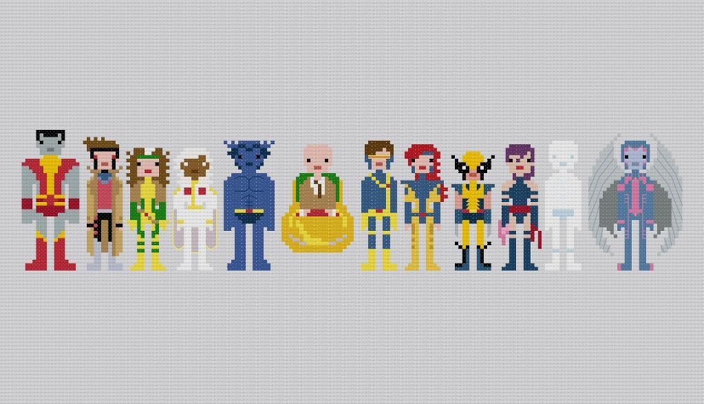 The X-Men - Pixel People